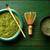 té · polvo · bambú · cuchara · batidor · japonés - foto stock © lunamarina