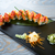 rice maki sushi with salmon and chili stock photo © lunamarina