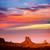 valle · oeste · puesta · de · sol · Utah · cielo · naturaleza - foto stock © lunamarina