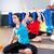 мужчины · йога · инструктор · группа · женщины · спортзал - Сток-фото © lunamarina