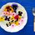 salata · çanaklar · sağlıklı · gıda · beyaz · ahşap · masa - stok fotoğraf © lunamarina