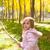 enfants · petite · fille · heureux · jouer · forêt · arbre - photo stock © lunamarina