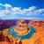 arizona horseshoe bend meander of colorado river stock photo © lunamarina