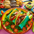mexicano · pollo · carne · de · vacuno · fajitas · tacos · colorido - foto stock © lunamarina