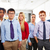 Business team young people standing multi ethnic stock photo © lunamarina