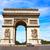 Arco · do · Triunfo · Paris · arco · triunfo · França · céu - foto stock © lunamarina