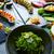 mixte · sushis · rouler · sashimi · alimentaire · noir - photo stock © lunamarina