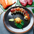 rice maki sushi with salmon and tuna stock photo © lunamarina