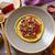 marine · ton · balığı · ahşap · masa · çiçekler · restoran - stok fotoğraf © lunamarina
