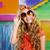 blond children happy tourist girl smiling with sunglasses stock photo © lunamarina