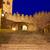 ラ · アーチ · スペイン · 星 · 日没 · 入り口 - ストックフォト © lunamarina