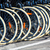 bicycles front wheel tyres in a row stock photo © lunamarina