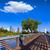 Houston · skyline · park · Texas · USA · hemel - stockfoto © lunamarina