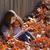 automne · fille · séché · laisse · automne · peu - photo stock © lunamarina
