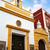 arco · iglesia · pintado · edificio · luz · arte - foto stock © lunamarina