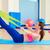 pilates · mulher · remo · elástico · exercer · exercício - foto stock © lunamarina