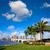palma · playa · horizonte · real · parque · puente - foto stock © lunamarina