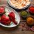 frango · indiano · receita · temperos · textura · laranja - foto stock © lunamarina