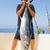 рыбак · рыбалки · пляж · небе · воды - Сток-фото © lunamarina