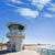 plaży · surfowania · miasta · USA · molo · ratownik - zdjęcia stock © lunamarina