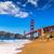 San · Francisco · Golden · Gate · Bridge · praia · Califórnia · EUA · céu - foto stock © lunamarina
