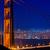 San · Francisco · Golden · Gate · Köprüsü · gün · batımı · kablolar · görmek · Kaliforniya - stok fotoğraf © lunamarina