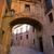 Valencia · katedrális · ív · utca · Spanyolország · Európa - stock fotó © lunamarina