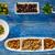 mediterranean tapas black olives capers and nuts stock photo © lunamarina