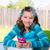 genç · kız · ödev · amerikan · kız - stok fotoğraf © lunamarina