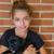kid girl playing with puppy dog smiling stock photo © lunamarina