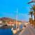 porto · porta · veleiro · nascer · do · sol · costa · cidade - foto stock © lunamarina