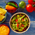 comida · mexicana · nachos · queso · cheddar · restaurante · cena - foto stock © lunamarina