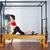 mujer · embarazada · pilates · ejercicio · entrenamiento · gimnasio · mujer - foto stock © lunamarina