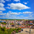burgos aerial view skyline with cathedral in spain stock photo © lunamarina