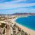 tengerpart · légi · sziluett · mediterrán · Spanyolország · égbolt - stock fotó © lunamarina