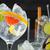 gin · appel · geserveerd · glas · water · ijs - stockfoto © lunamarina