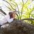 kız · bahçe · cüce · orman · orman · doğa - stok fotoğraf © lunamarina
