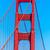 Golden · Gate · Bridge · detalhes · San · Francisco · Califórnia · EUA · céu - foto stock © lunamarina