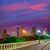 houston skyline at sunset sabine st texas usa stock photo © lunamarina