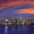 Boston skyline at sunset and river in Massachusetts  stock photo © lunamarina