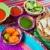 comida · mexicana · pimenta · nachos · limão · México - foto stock © lunamarina
