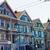 modern · város · házak · tégla · üveg · városi - stock fotó © lunamarina