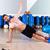 fitness side push ups man pushup at gym stock photo © lunamarina