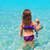 agua · playa · nino · nina · vista - foto stock © lunamarina