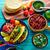tacos · Meksika · kişniş · ananas · çili - stok fotoğraf © lunamarina