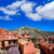 medieval · cidade · Espanha · aldeia · parede · rua - foto stock © lunamarina
