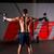 crossfit · gymnasium · bar · gewichten · fitness - stockfoto © lunamarina