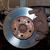 car wheel brake rusty disc with pads rotor disc and caliper stock photo © lunamarina