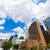 Houston · sziluett · városkép · Texas · égbolt · tájkép - stock fotó © lunamarina