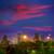 houston skyline west view sunset texas us stock photo © lunamarina